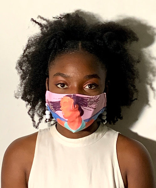 Adjustable Face Mask - Don't Touch my hair