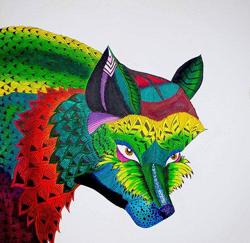 Foxy ~ Canvas  Print