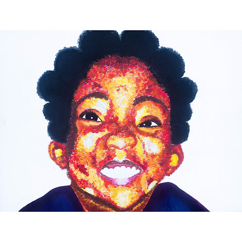 Shina Baby ~ Canvas Prints