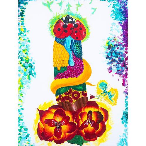 Adam's Garden ~ Canvas Print