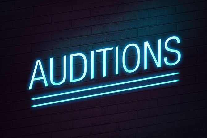 Audition Inspiration - Don't Give Up!