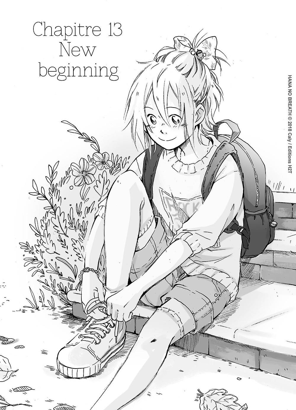 "Sortie du chapitre 13 du manga ""Hana No Breath"" sur Weeklycomics.fr (Editions H2T)"