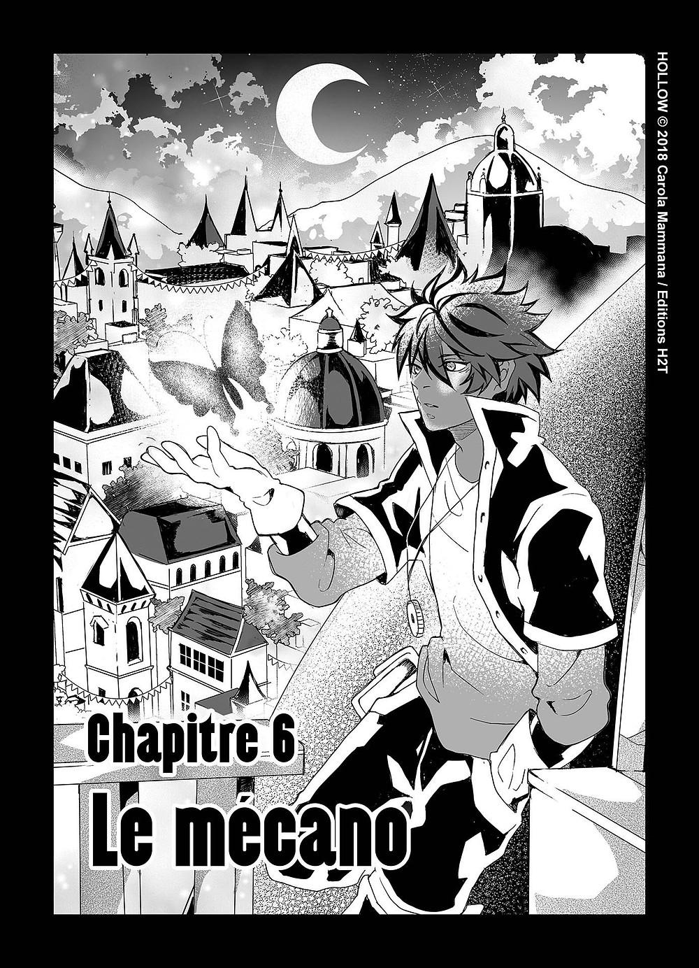 Chapitre 6 - Hollow- Shone de Carola Mammana aux Editions H2T