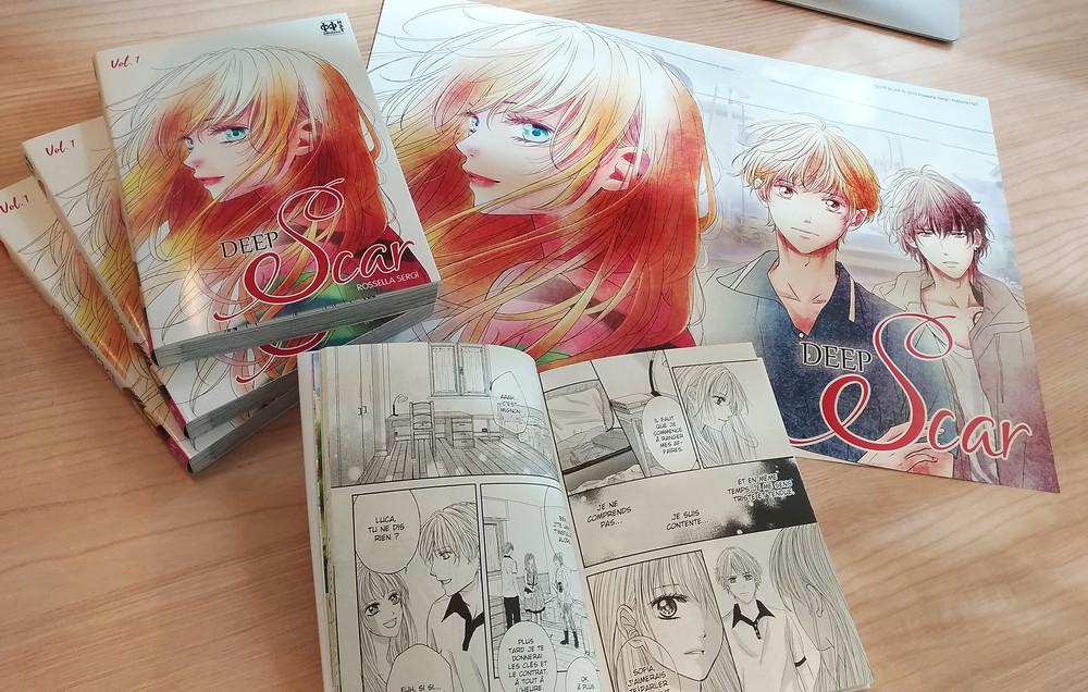 Sortie de DEEP SCAR T.01 [manga + poster A3]
