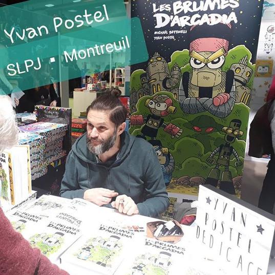 YVAN POSTEL au SLPJ de Montreuil 😍