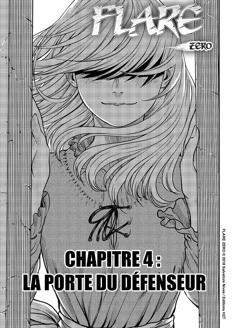 Sortie du chapitre 3 de Flare Zero le manga de Salvatore Nives aux Editions H2T - Disponible sur weeklycomics.fr