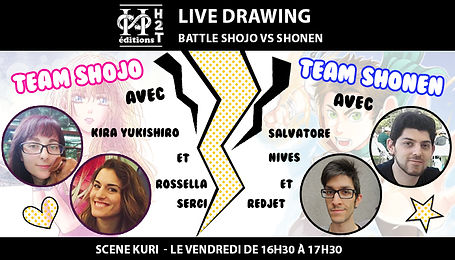 Visuels JE 2019 - LIVE DRAWING - battle