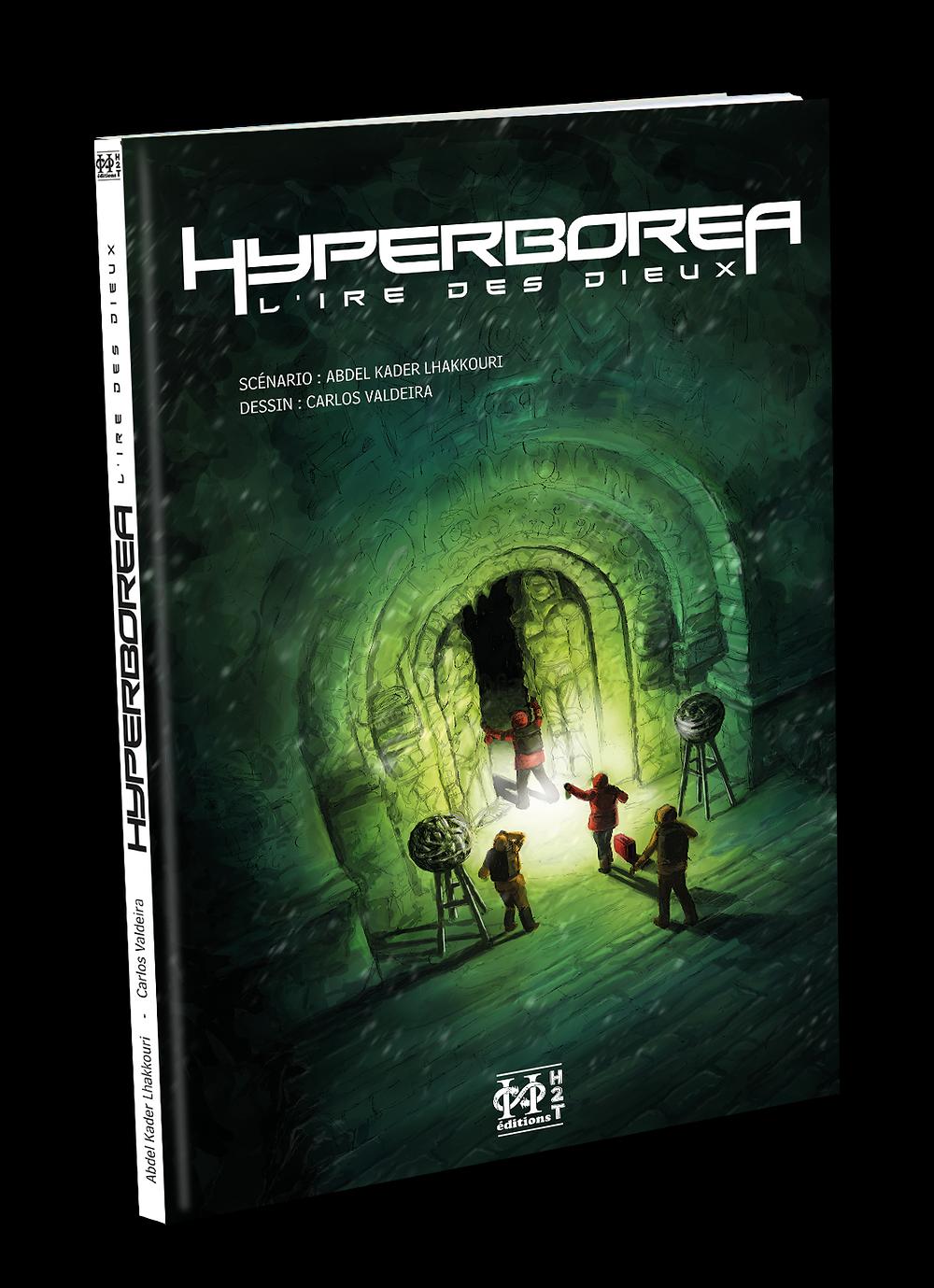Hyperboréa , l'ire des dieux est une BD d'Abdelkader Lhakkouri et de Carlos Valdeira aux Editions H2T - sortie le 23.01.2019