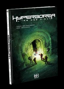 """""""Hyperboréa, l'ire des Dieux"""" une BD scénarisée par Abdelkader Lhakkouri et dessinée par Carlos Valdeira aux Editions H2T."""