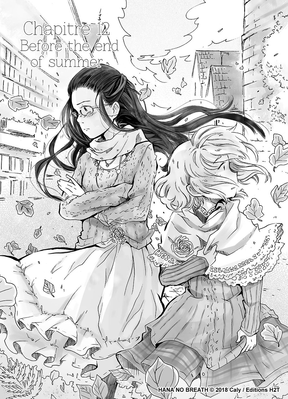 Cover - chapitre 12 - Hana No breath
