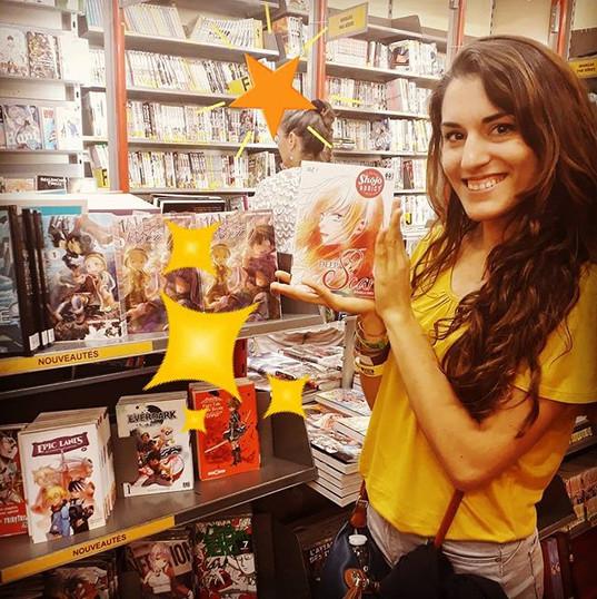 Rossella Sergi et son manga Deep Scar