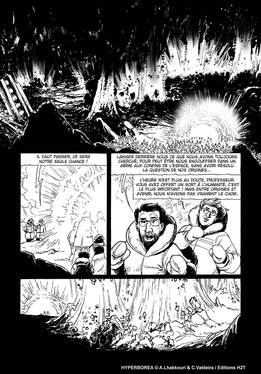 HYPERBOREA - dernier chapitre disponible sur weeklycomics.fr