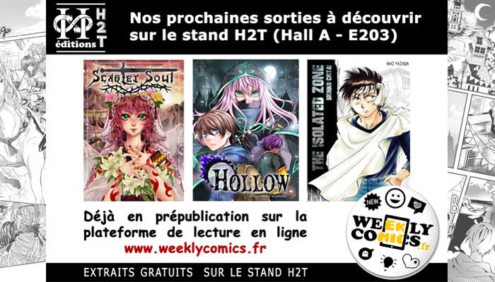Nouveautés Manga à découvrir sur le stand H2T [Japan Expo 2018]