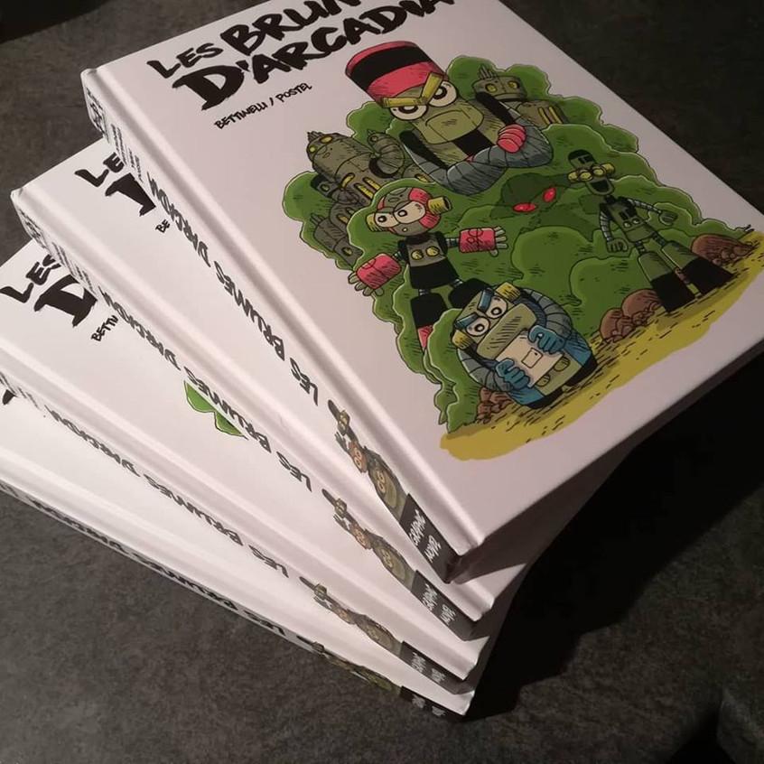 Graphic Novel d' Yvan Postel + Michael B pages €couleur /ettinelli aux Editions H2T / 17€95