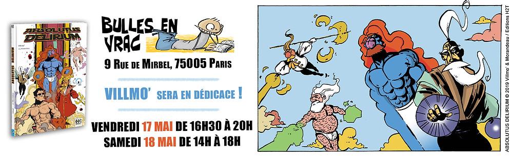 """17 et 18 MAI : """"BULLES EN VRAC"""" PARIS (75005)"""