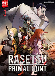 Rasetsu : Primal Hunt T.03 - couverture