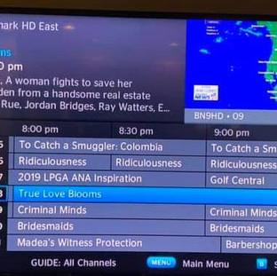 TV Listing - True Love Blooms