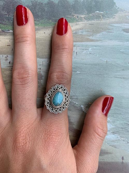 Larimar Ring #23