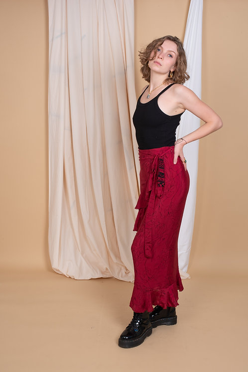 Laura Wrap-Skirt #8