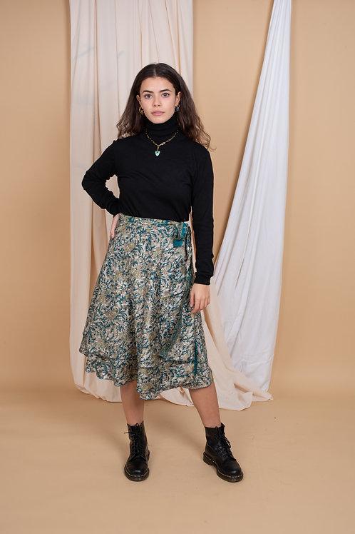 Marion Wrap-Skirt #4