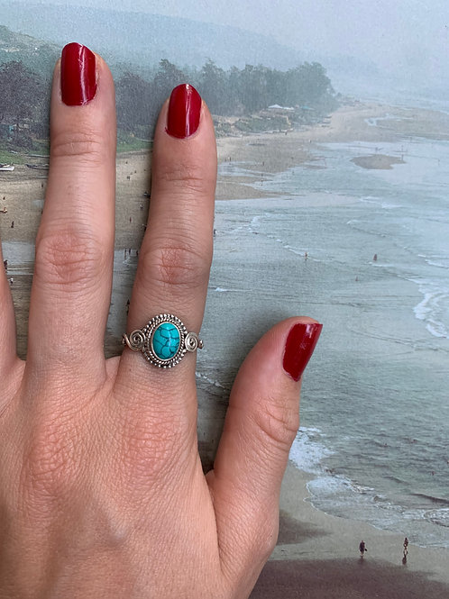 Turquoise Ring Small #6