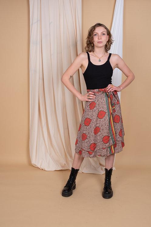 Marion Wrap-Skirt #7