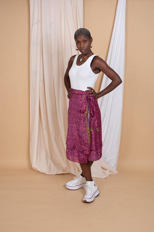 Marion Wrap-Skirt #3