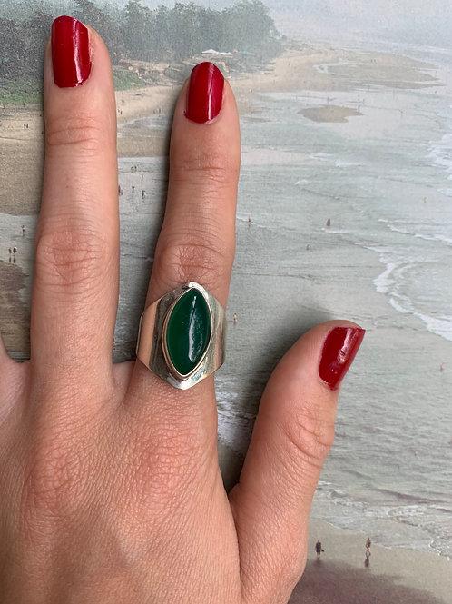 Green Onix Ring #31