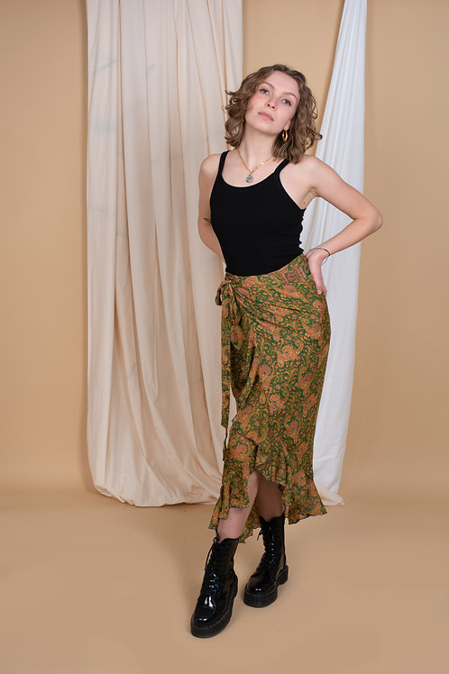 Laura Wrap-Skirt #6