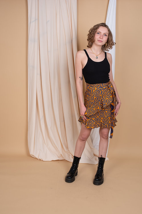 Inès Wrap-Skirt #5