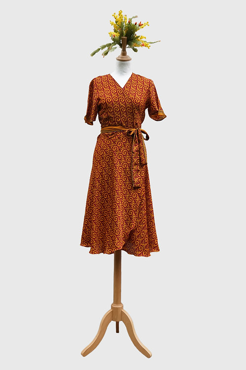 Madhu Wrap Dress #9 S-M