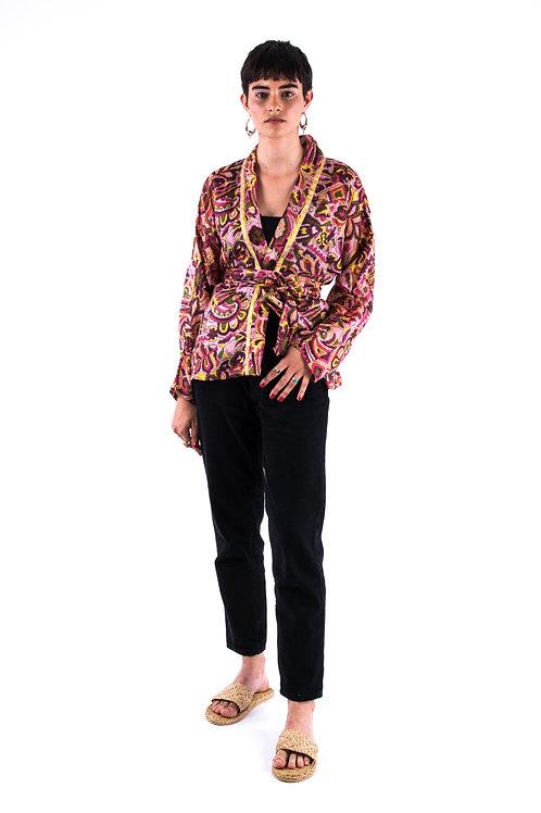 Madhu Silk Kimono #7