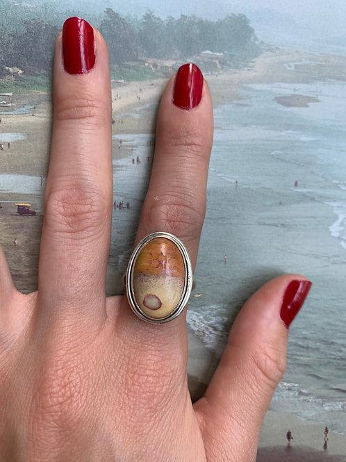 Polo Gram Jasper Ring #17