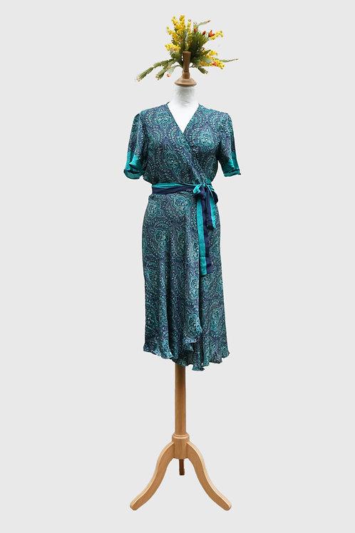 Madhu Wrap Dress #5 M-L