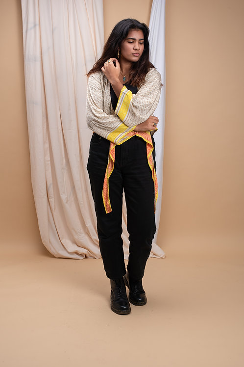Wrap-Top Long Sleeve #7