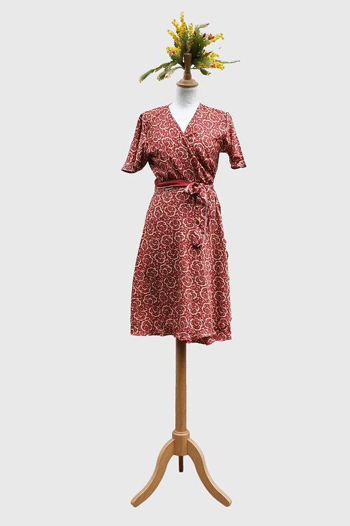 Madhu Wrap Dress #4 M-L