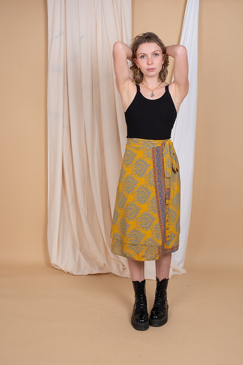 Marion Wrap-Skirt #1