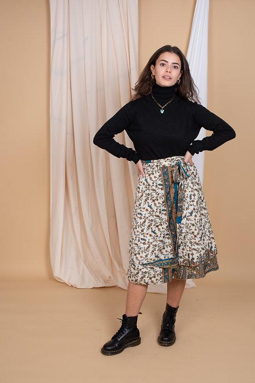 Marion Wrap-Skirt #10