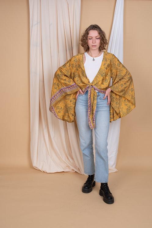 Wrap-Top Butterfly Sleeve #9