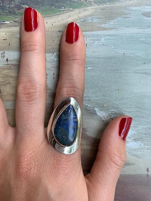 Azure Malakite Ring #10