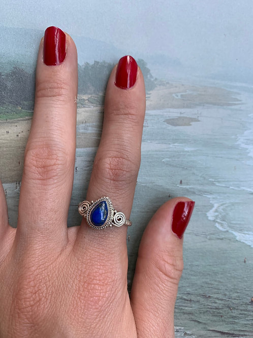 Lapis Ring Small #3
