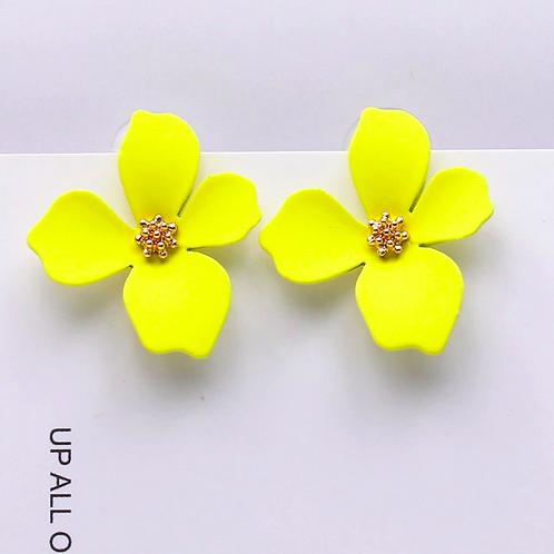 Brincos Yellow Sumire