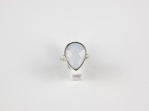 Anel Silver Moonstone