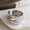 Thumbnail: Anel de Prata 925 Irregolare