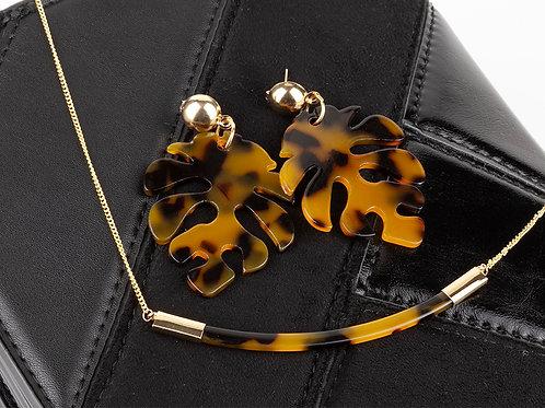 Vendido - Conjunto Boho Leopard