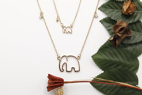 Colar Elephants