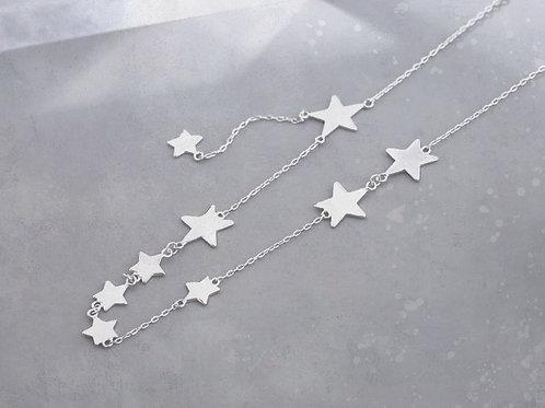 Colar de Prata 925 Small Stars