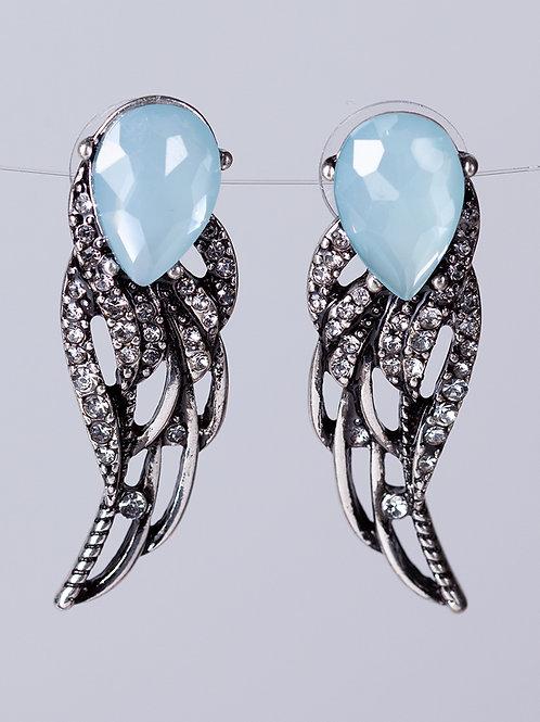Brincos Wing Silver