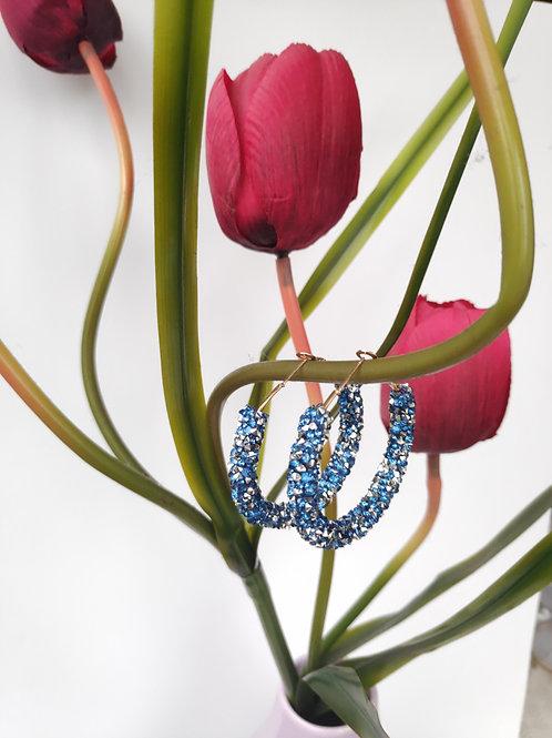 Argolas Blue Luxury