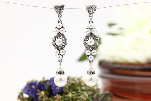 Brincos Bouquet Pearls